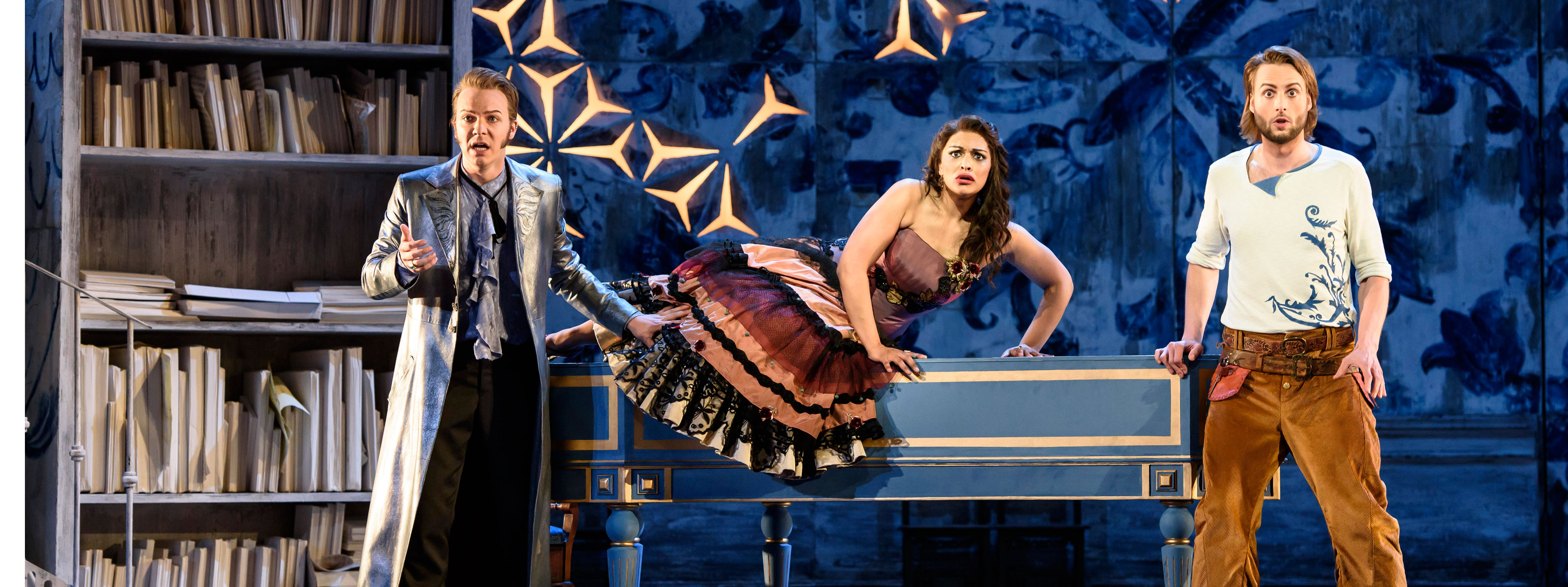 A theatre performance at the Glyndebourne festival 2019