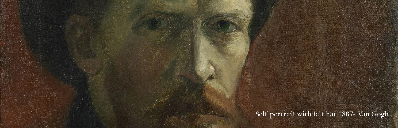 A painting of Van Gogh