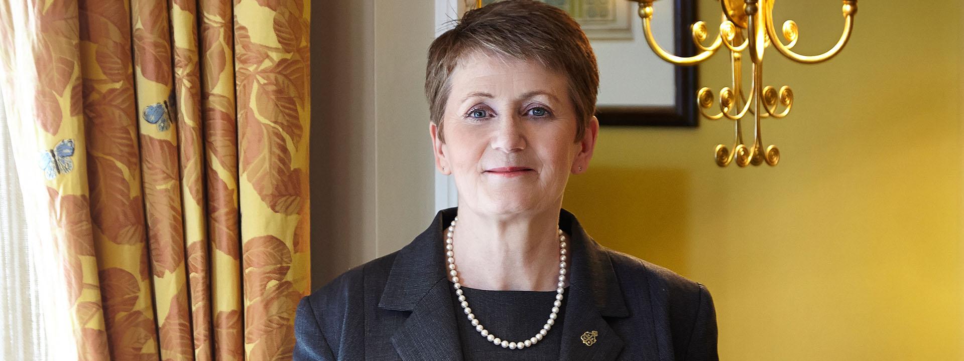 Claridge's deputy head housekeeper Anne Barnes