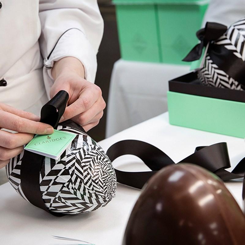 Claridge's Easter Egg Luxury Lifestyle organise party shop