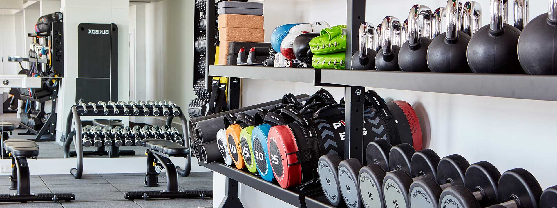 Claridge's fitness & personal training with weights
