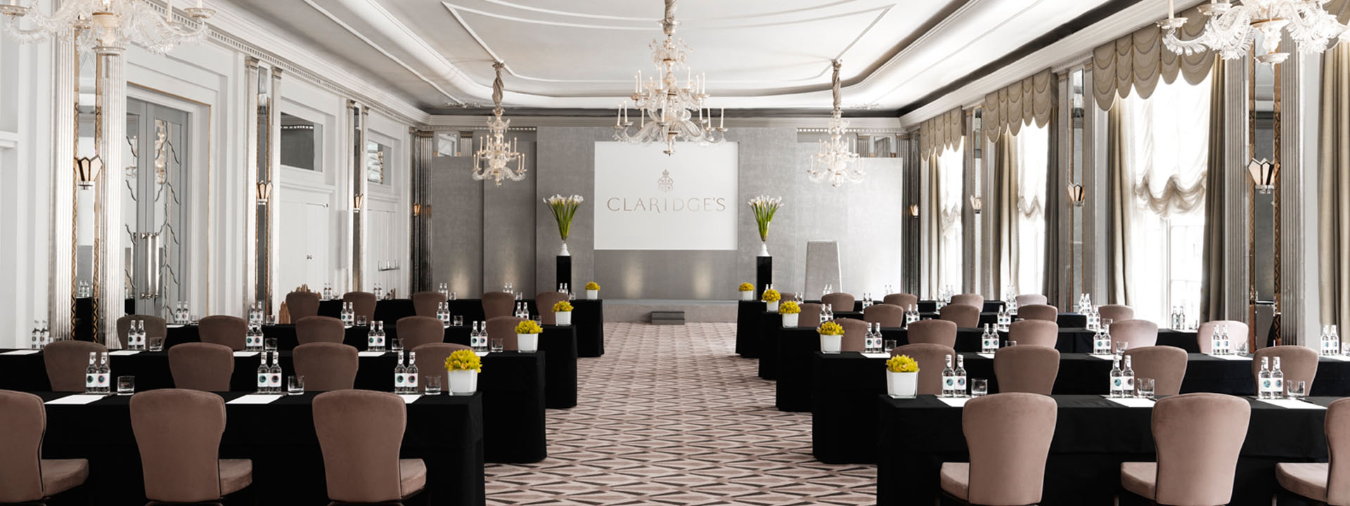 Ballroom corporate room at Claridge's