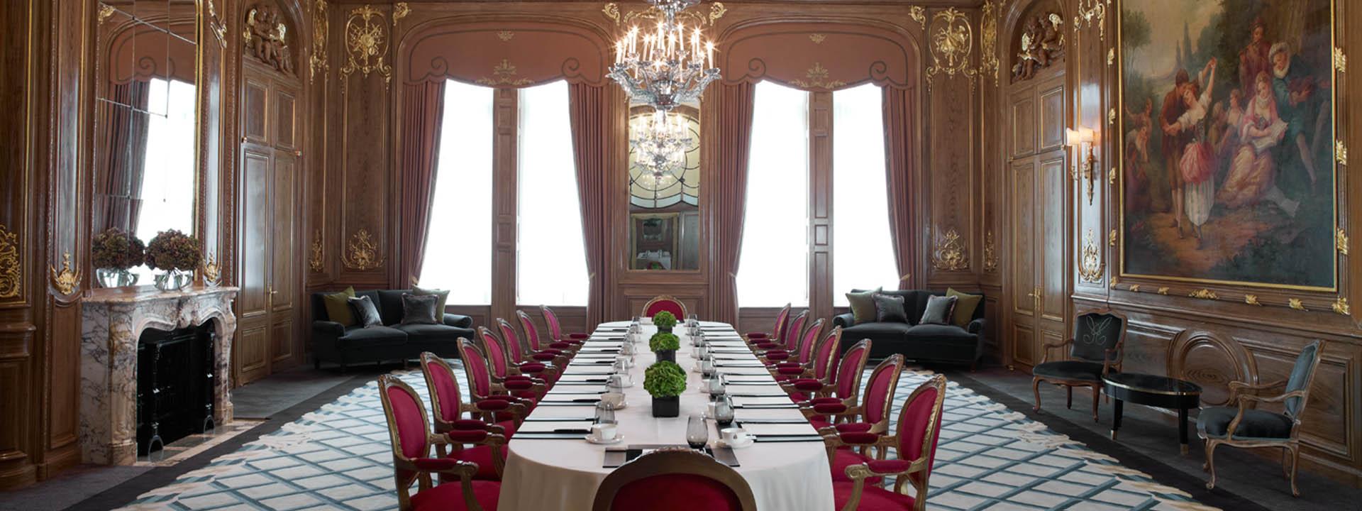 Claridge's business meeting room