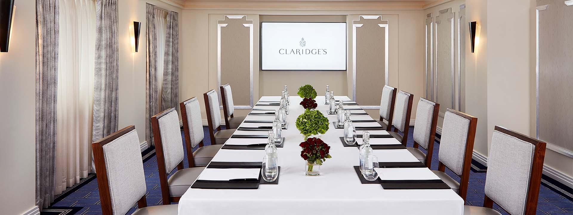 Claridges Meeting Rooms