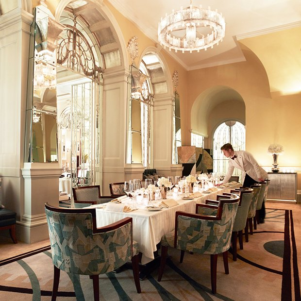 Private Dining At The Foyer & Reading Room London