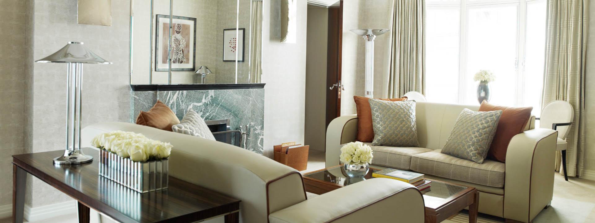 Claridge's Suite Sitting Area