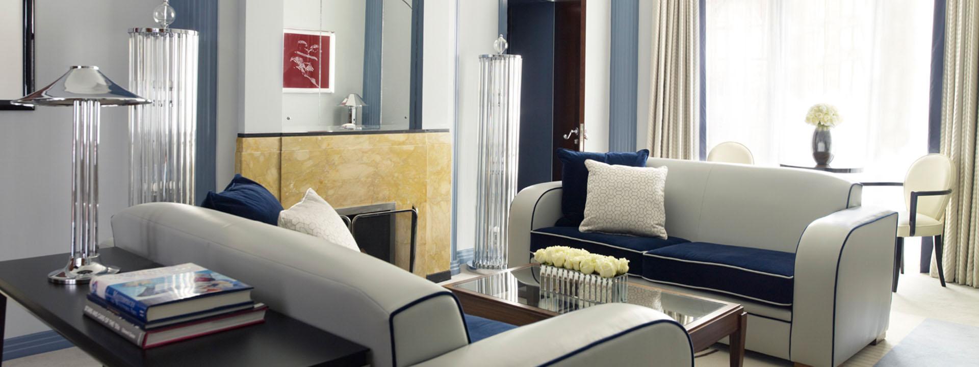 Claridge's Suite Sitting Room