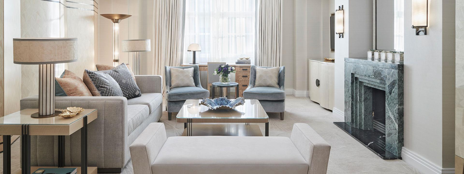 Claridge's Suite Living Room