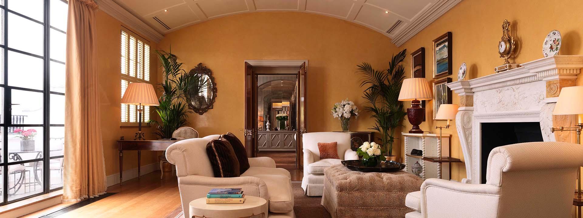 Davies Penthouse Living Room