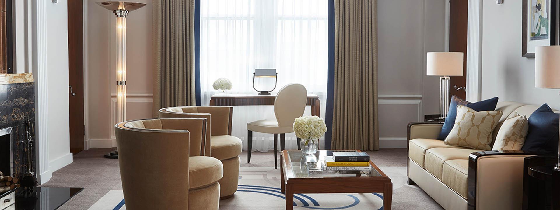 Mayfair Suite Sitting Room